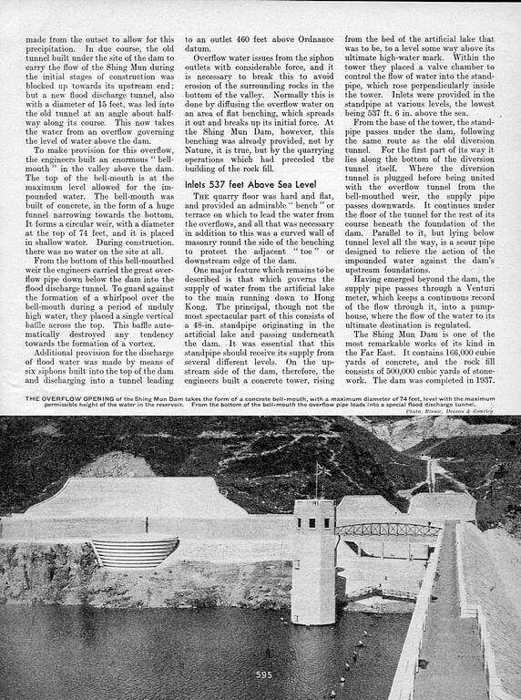 Hong Kong Water Supply 1935 Page 5
