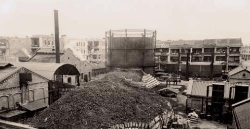 Hongkong and China Gas Company 1892 First Kowloon works