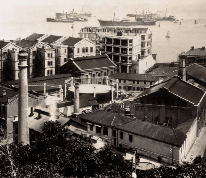 Hongkong and China Gas Company - West Point gas production plant