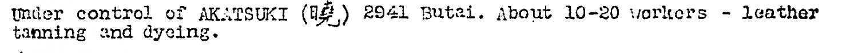 Leather Works No. 1 ER Kweilin Weekly Intelligence Summary #66, 15.9.1944.