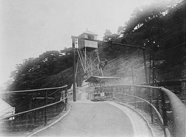 Taikoo Sugar - cableway, lower station c1930s