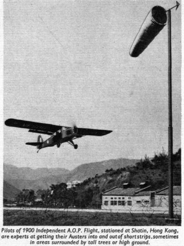 Shatin Airfield from Flight Global 1954