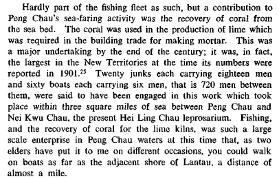 Lime Coral production Peng Chau James Hayes RESHKB article
