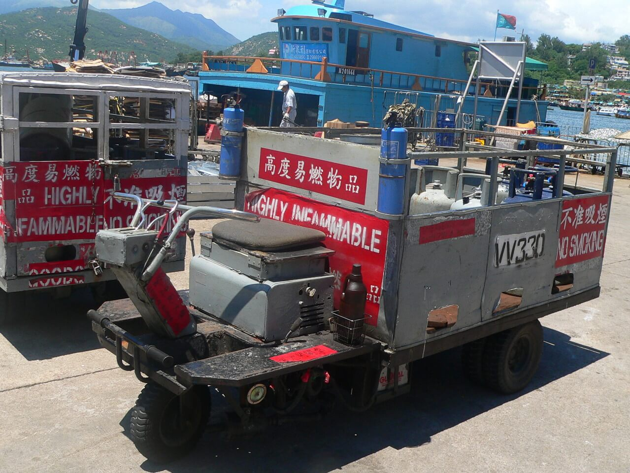 Village Vehicles Cheung Chau Hanson's Hikes