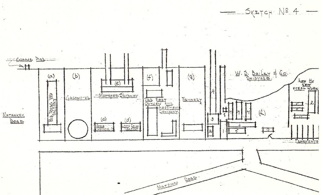 Bailey's Shipyard BAAG map