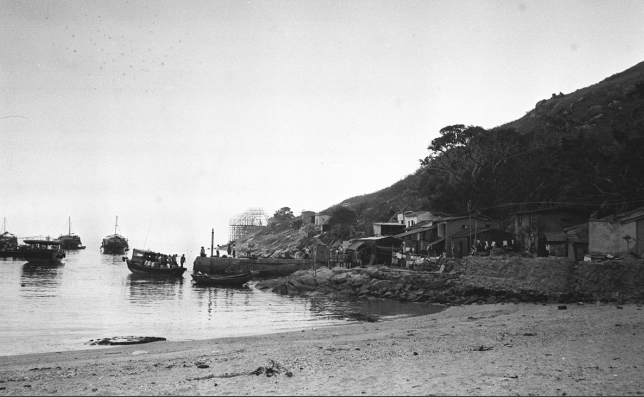 Plover Cove Sam Mun Tsai village - late 1960s SCMP
