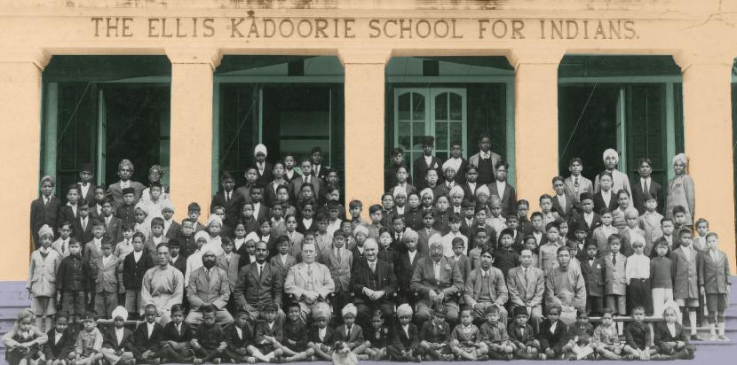 Hong Kong Heritage Project - Kadoorie School for Indians 1920s