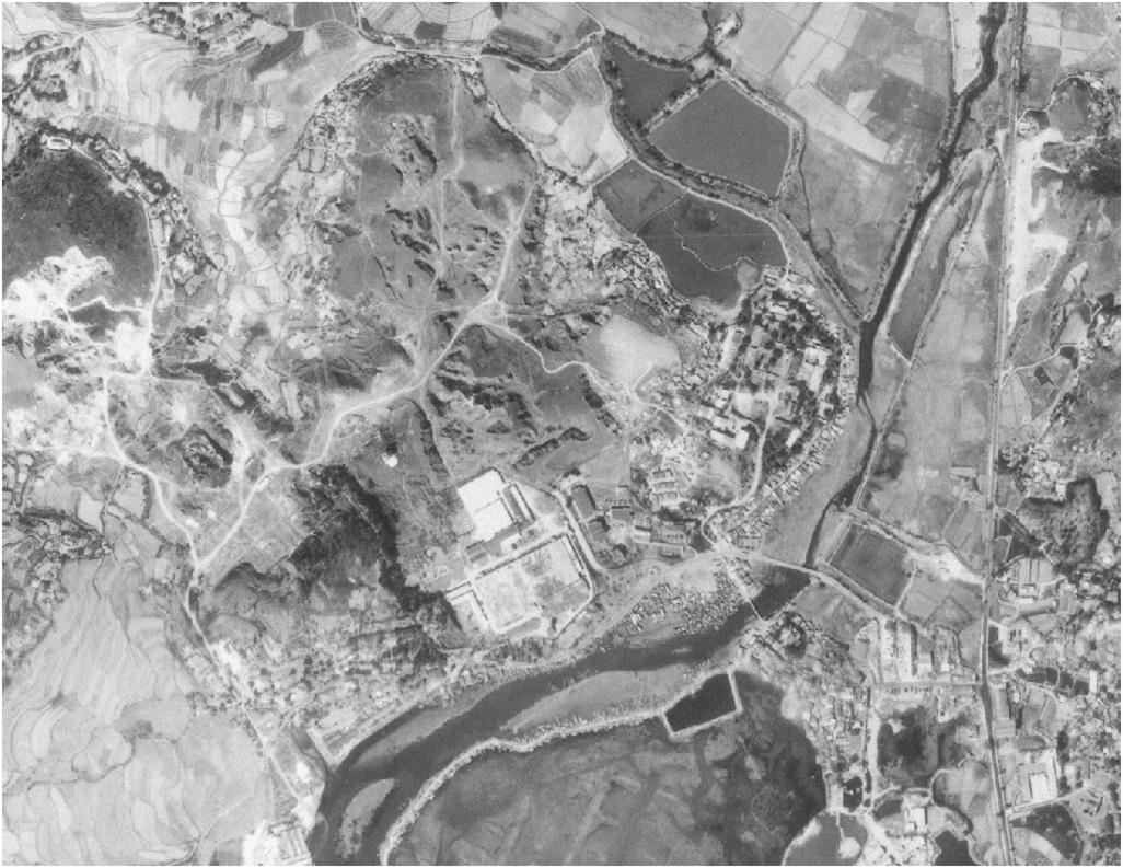 Tuen Mun Ceramics Factory 1963 map Tymon Mellor