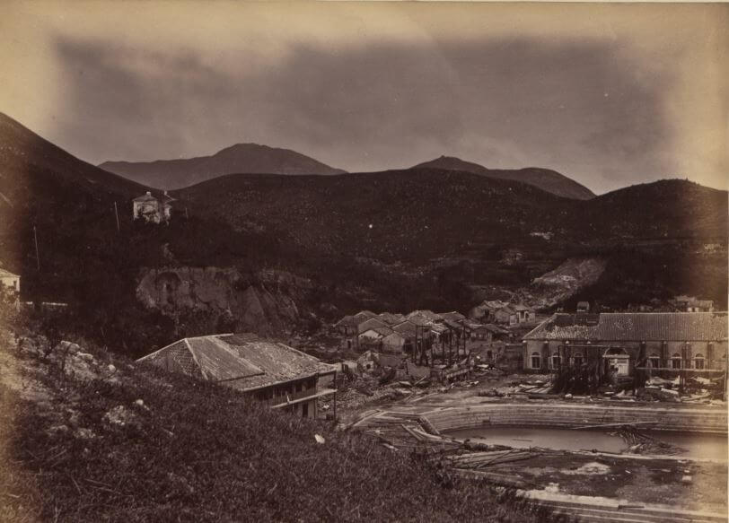 Aberdeen Dock 1874 Typhoon Damage National Archive on flikr snipped