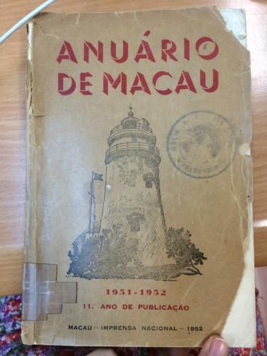 Agência Comercial Progresso - Anuaria De Macau 1951.1952 a