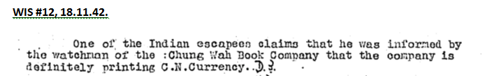 Chung Wah Book Company BAAG report 18.11.42