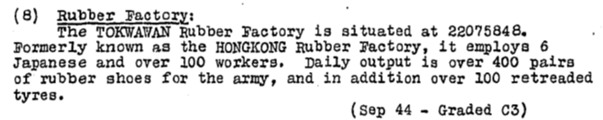 Hong Kong Rubber Works KWIZ #76 24.11.44. b