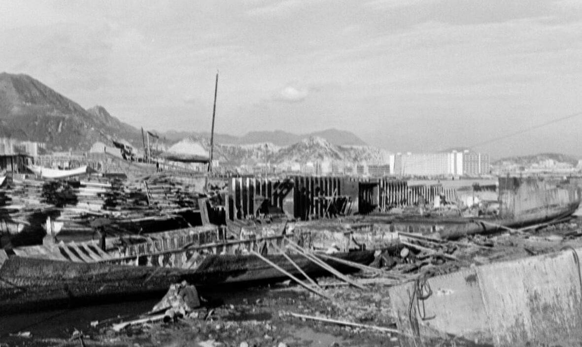Ship breaking Cheung Sha Wan undated IDJ