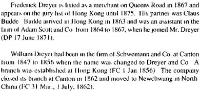 Dreyer and Company German speaking HKBRAS