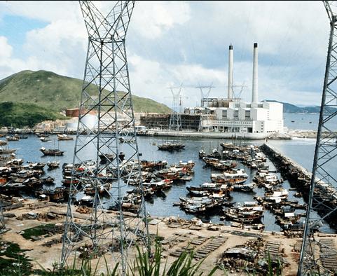 Hong Kong Electric Ap Lei Chau Power Station 1971