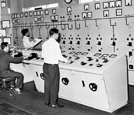Hong Kong Electric-North_Point_'B'_Power_Station-Electrical_Control_Room-1960s
