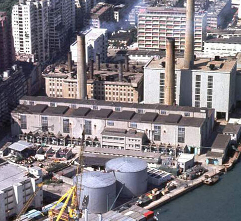 Hong Kong Electric-North_Point_Power_Stations-1970s