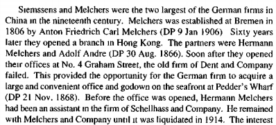 Melchers and Company German speaking HKBRAS