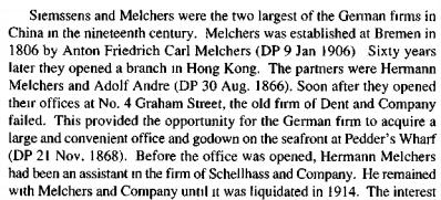 Melchers and Company German speaking HKBRAS