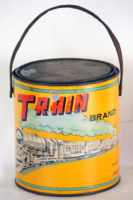 Train-Brand-paint tin-Claimed to be of Hong Kong origin IDJ advert