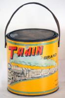 Train-Brand-paint tin-Claimed to be of Hong Kong origin IDJ advert