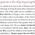 Alexander Ross, Wanchai Shipyard owner, 1865