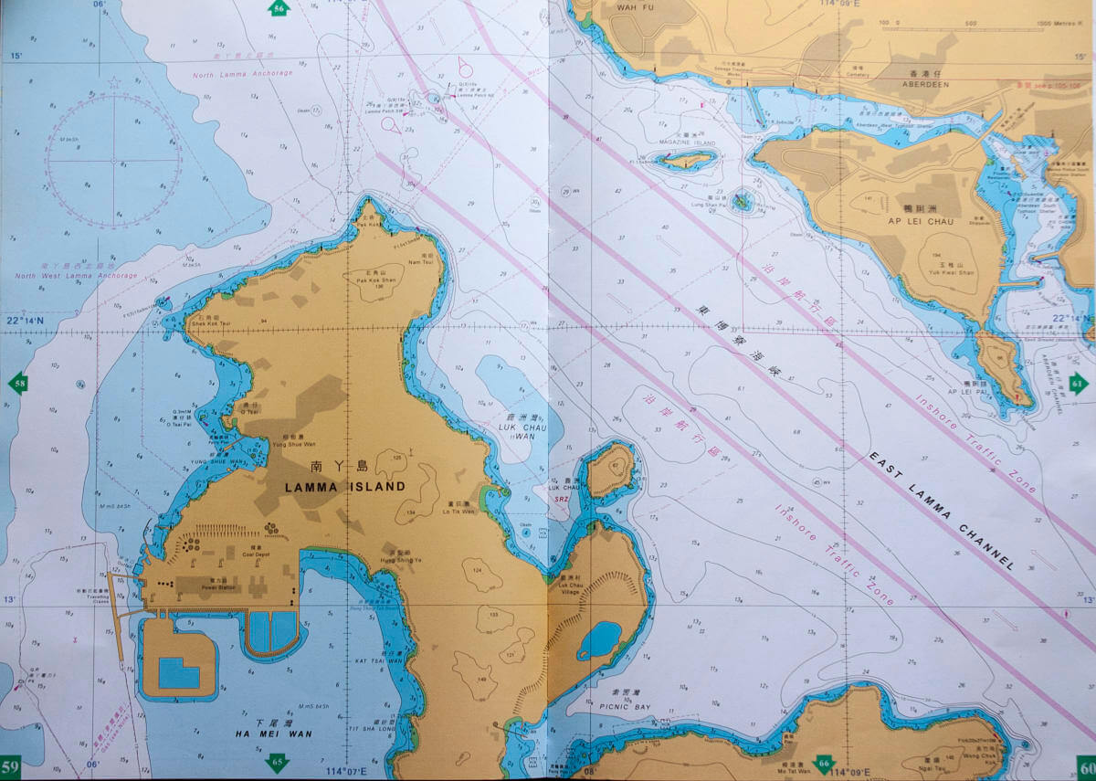 Lamma North Marine Map Andy Cattrell