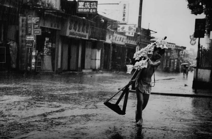 Chak Wai Leung Photo 1966 Goldfish Monger Kowloon 1966 TheDesk