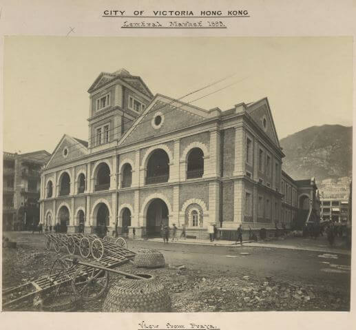 Central Market d 1895 View fom Praya