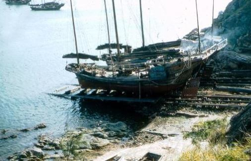 Cheung Chau slipways at north end of harbour Andrew Suddaby photo 1958 gwulo jpg