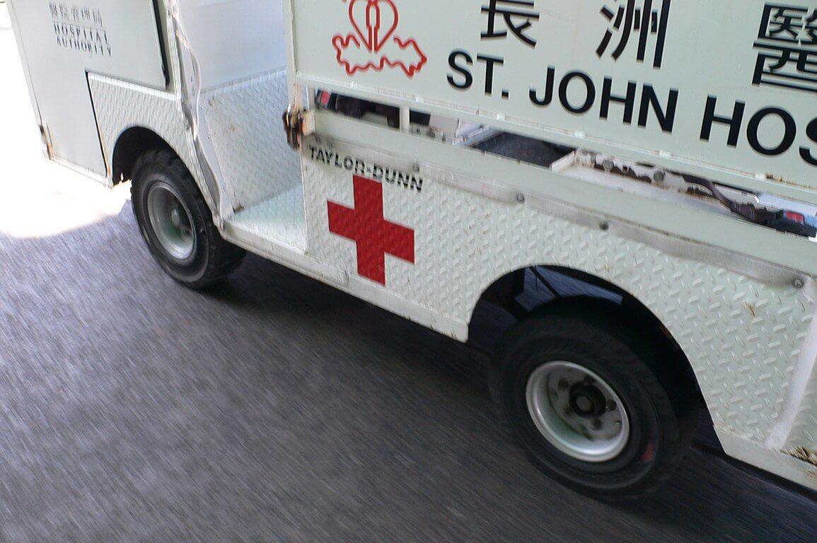 Village Vehicle Cheung Chau -TAYLOR-DUNN-ambulance b IDJ