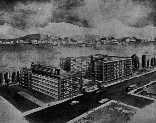 Nanyang Cotton Mill company records 1970s staff quarters + workers' dormitories