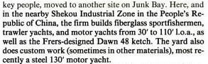 Joseph HH Kong - American Marine, Yachting Mag b Apr 1985 snipped