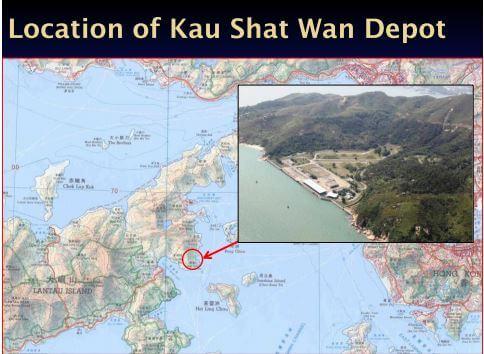Kau Shat Wan explosives depot map CEDD snipped