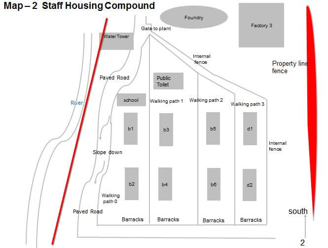 South China Iron Works Staff Housing Compound Map 2 Antonia Cheung