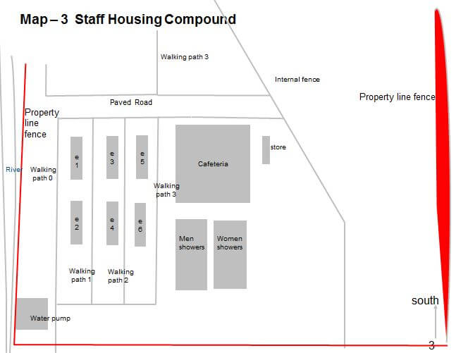 South China Iron Works Staff Housing Compound cont. Map 3 Antonia Cheung