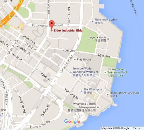 Eldex Industrial Building location google map snipped