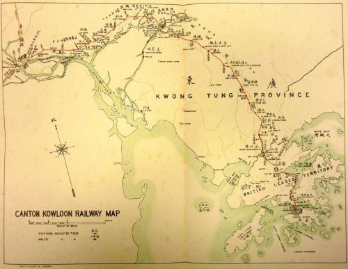 1930 KCRC Map