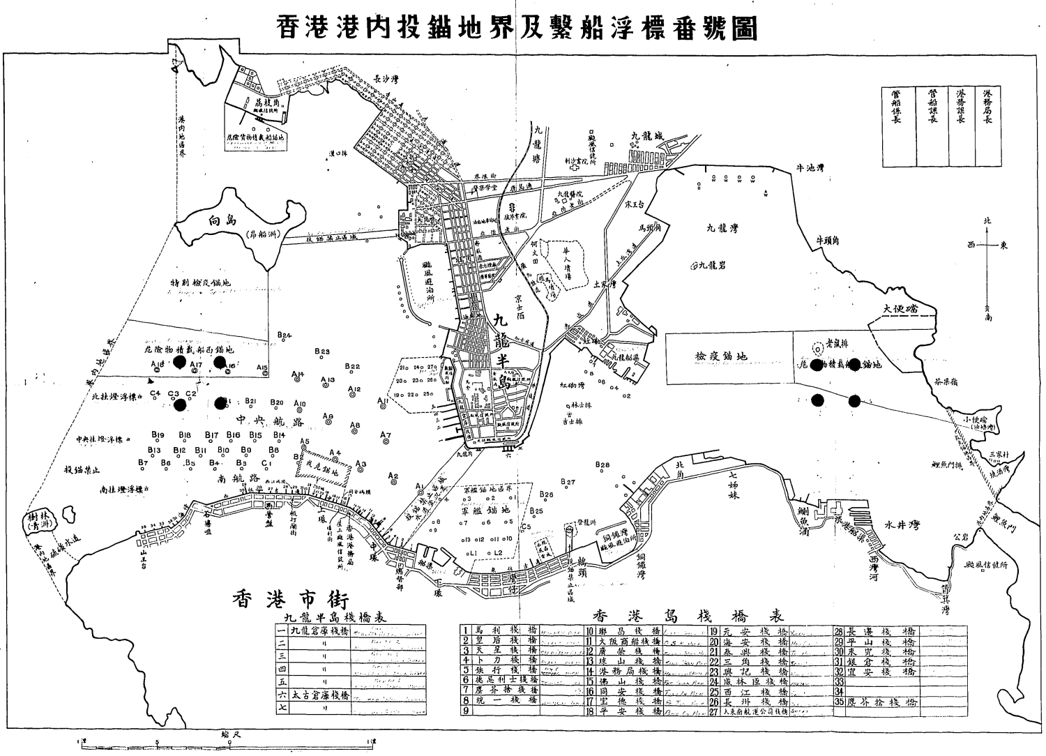 Cosmopolitan Docks during Jap Occupation 1942-1945