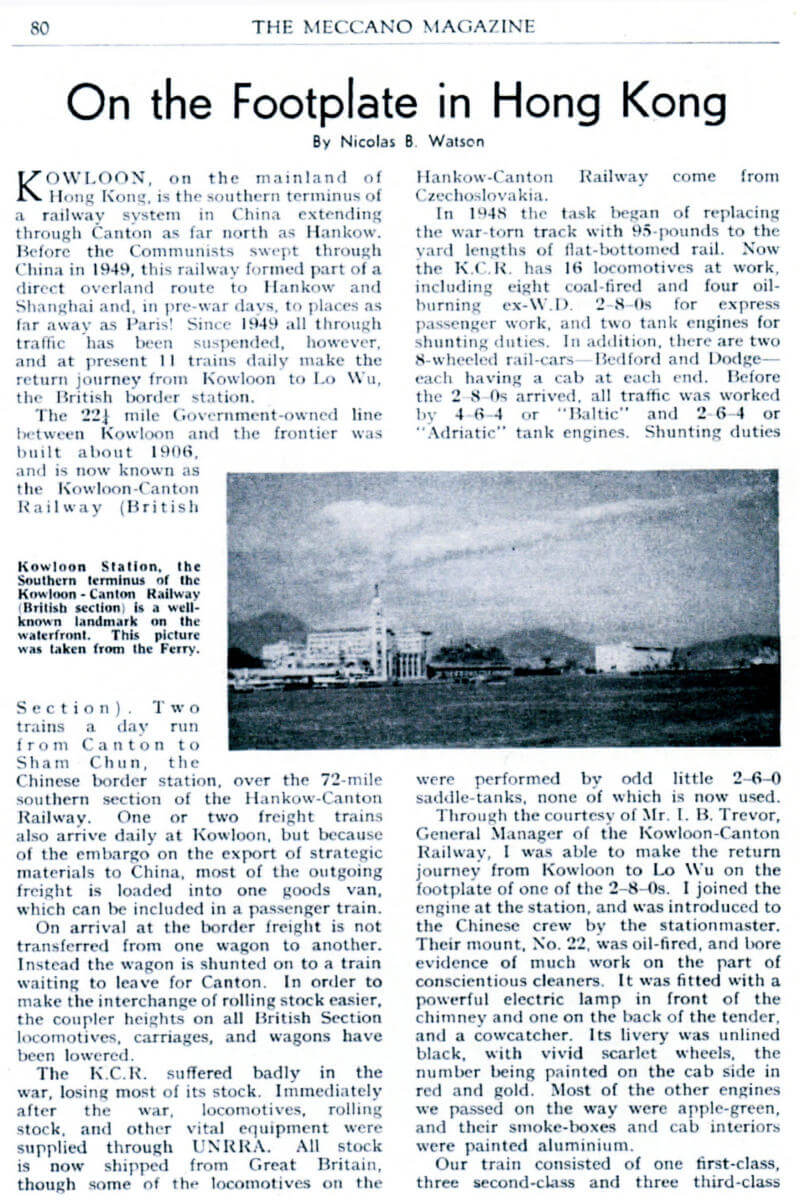 KCR Meccano Magazine article 1955-page-01 IDJ