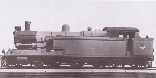 Kitson 4-6-4 Engine