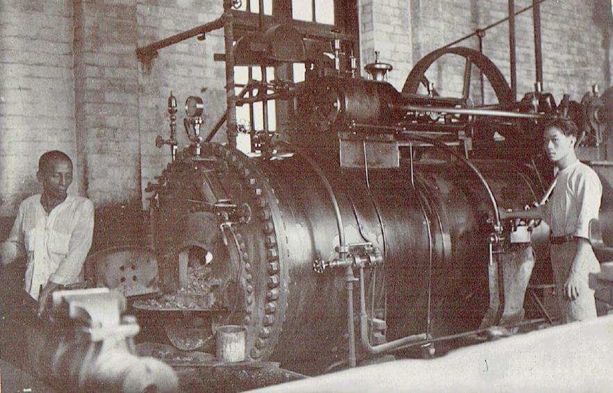 Orient Tobacco Manufactury drying machine Edward Schneider