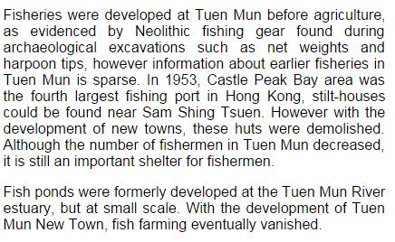 Tuen Mun fisheries www. greenpower.org.hk