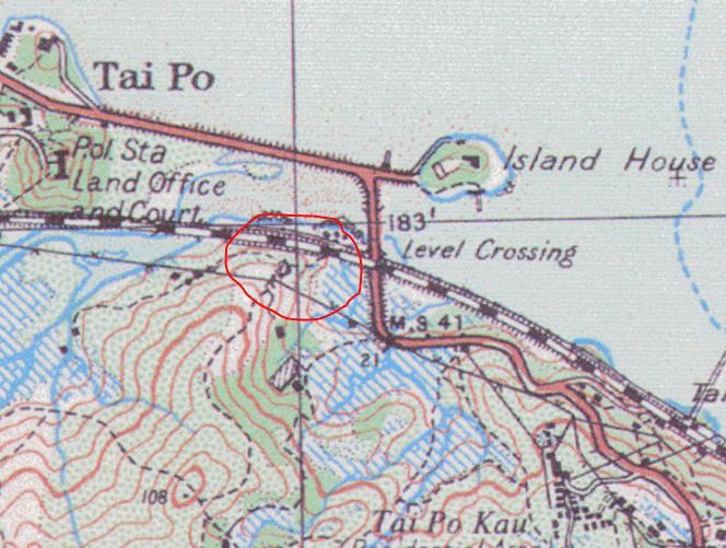 Zonta White House 1924 map location Tymon Mellor