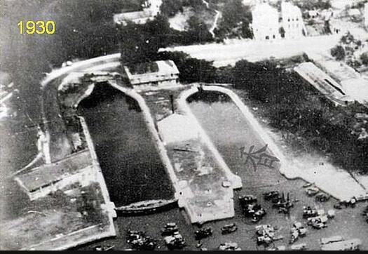 Aberdeen Docks photo pre-war SDavies