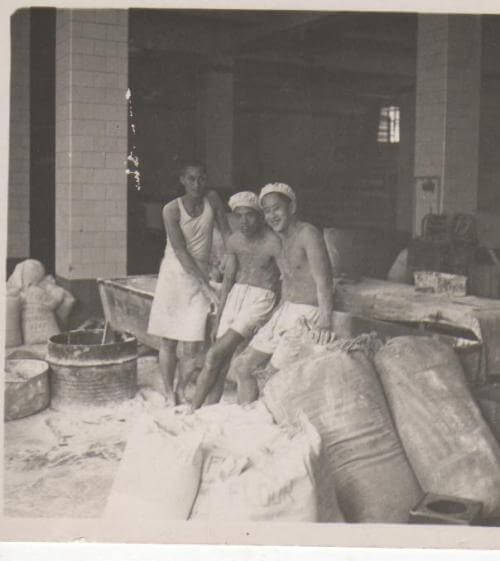 Bakery - chinese workers, unknown bakery, Brian Edgar