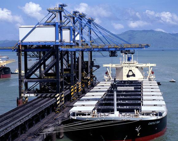 Castle Peak Power Station-coal unloading jetty 6