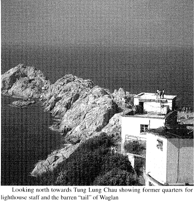 Lighthouses, HK and the men who manned them HKBRAS Vol 41, 2001 snipped image 2