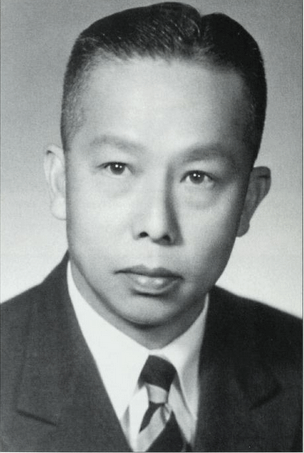 Richard Charles Lee, photo 1952 extracted from the Life & Times of RCL