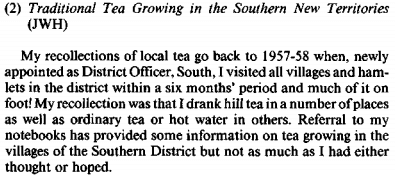 Tea, traditional tea growing in the NT, RASHKB Vol 24, 1984 snipped b